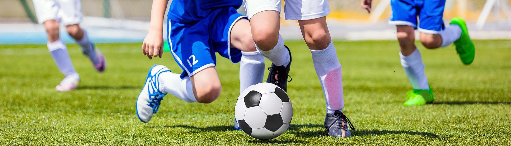 Jonge voetballers